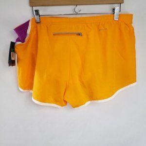 Nike Shorts - Nike Orange and Pink Athletic Running Shorts